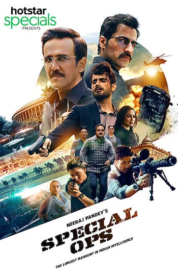 Special OPS (2020) WEB-DL S01 Complete Web Series Hindi 720p x264
