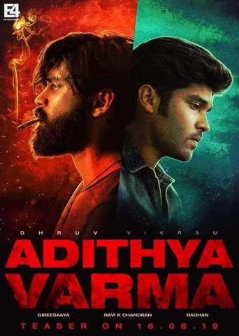 Adithya Varma 2019 Hindi Dual Audio 480p UNCUT HDRip x264 500MB ESubs