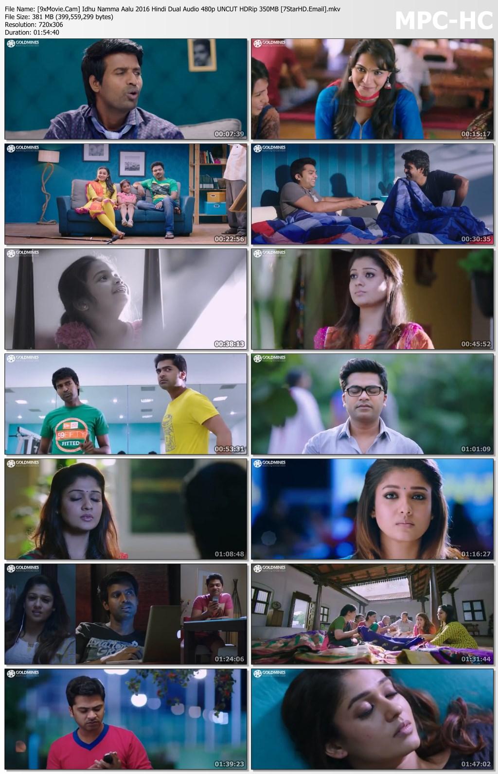 Idhu Namma Aalu 2016 Hindi Dual Audio 480p UNCUT HDRip x264 350MB