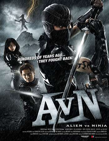Alien vs Ninja 2010 Hindi Dual Audio BRRip Full Movie 480p Download