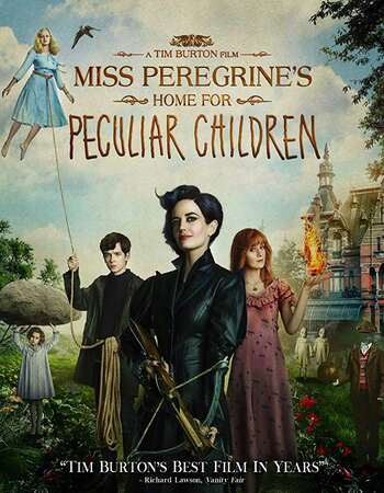 Miss Peregrines Home for Peculiar Children 2016 Hindi Dual Audio BRRip Full Movie 720p Download