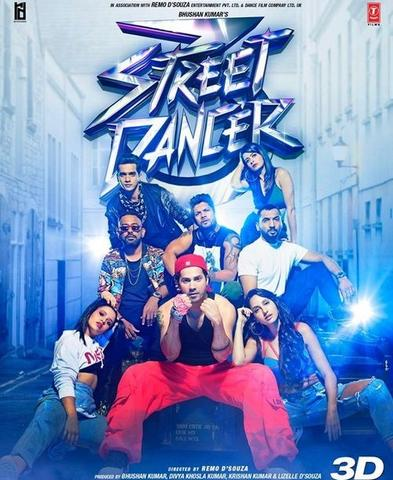 Street Dancer 3D 2020 Hindi 480p HDRip x264 400MB ESubs