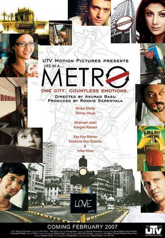 Life in a Metro 2007 Hindi 480p HDRip x264 400MB ESubs