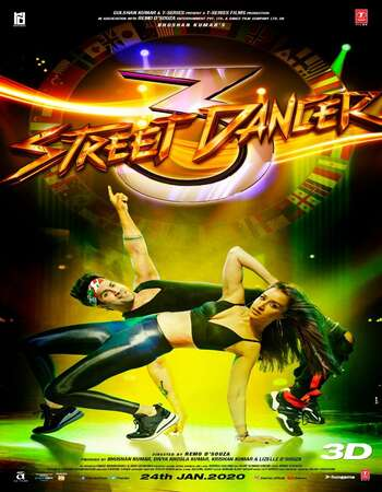Street Dancer 3D 2020 Full Hindi Movie 1080p HDRip Download