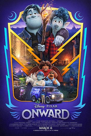 Onward 2020 English 720p WEB-DL 800MB ESubs