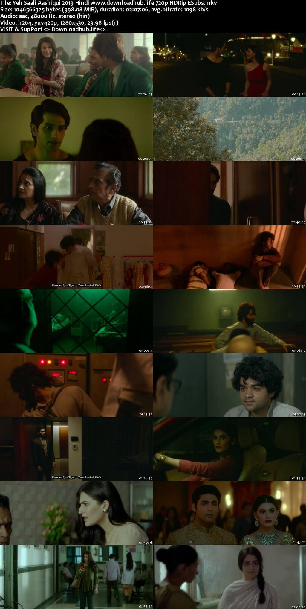 Yeh Saali Aashiqui 2019 Hindi 720p HDRip ESubs