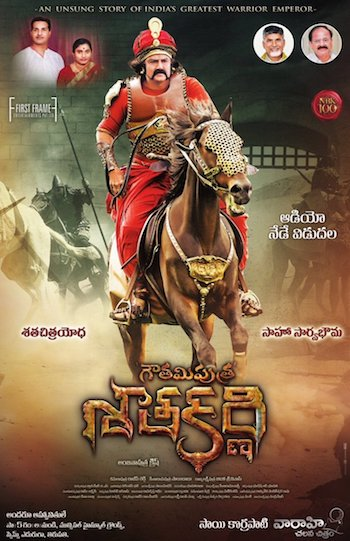 Gautamiputra Satakarni 2017 Hindi Dubbed 720p HDRip 950mb