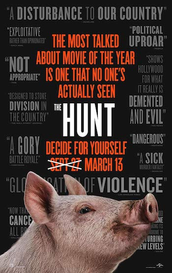 The Hunt 2020 English 720p WEBRip 750MB ESubs