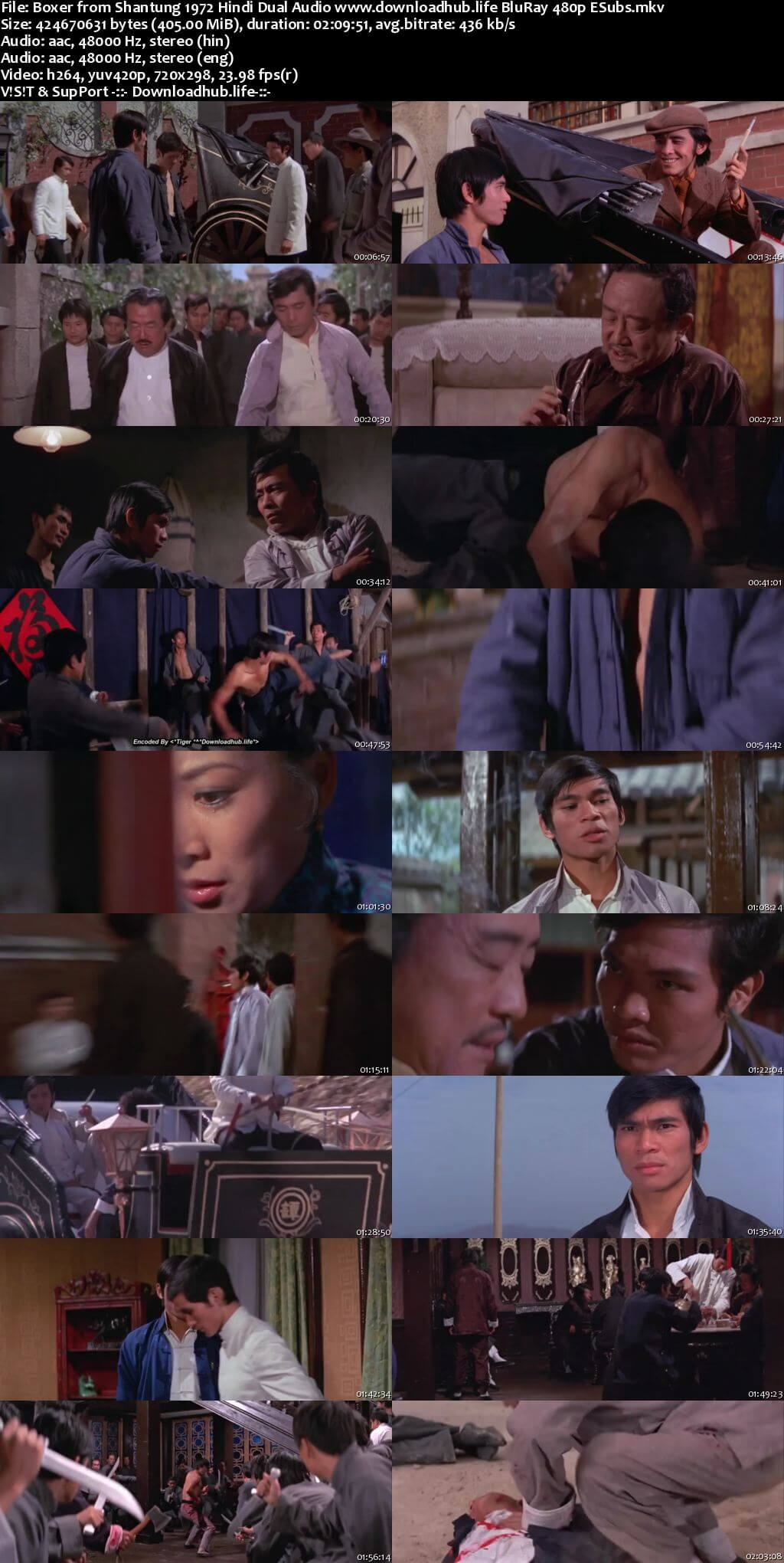 Boxer from Shantung 1972 Hindi Dual Audio 400MB BluRay 480p ESubs