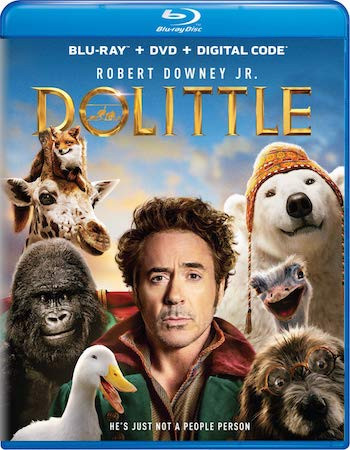 Dolittle 2020 English 720p BRRip 800MB ESubs