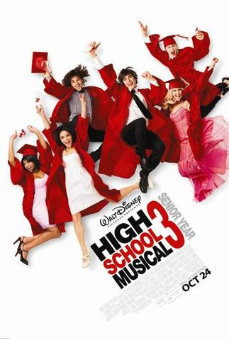 High School Musical 3 2008 Hindi Dual Audio 480p BluRay x264 350MB