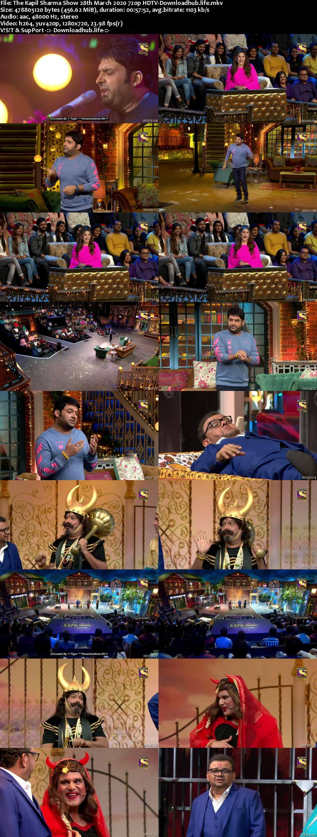 The Kapil Sharma Show 28 March 2020 Episode 126 HDTV 720p 480p