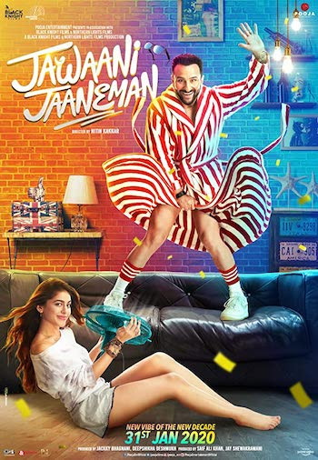 Jawaani Jaaneman 2020 Hindi 720p WEB-DL 900MB