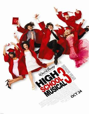 High School Musical 3 2008 Hindi Dual Audio BRRip Full Movie 720p Download