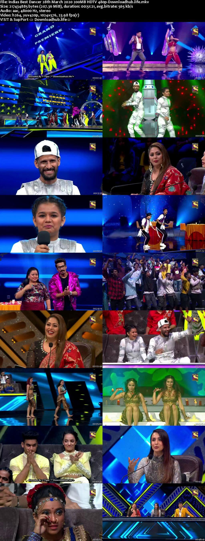 Indias Best Dancer 28 March 2020 Episode 09 HDTV 480p