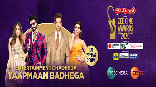 Zee Cine Awards 28th March 2020 650MB HDTV 480p
