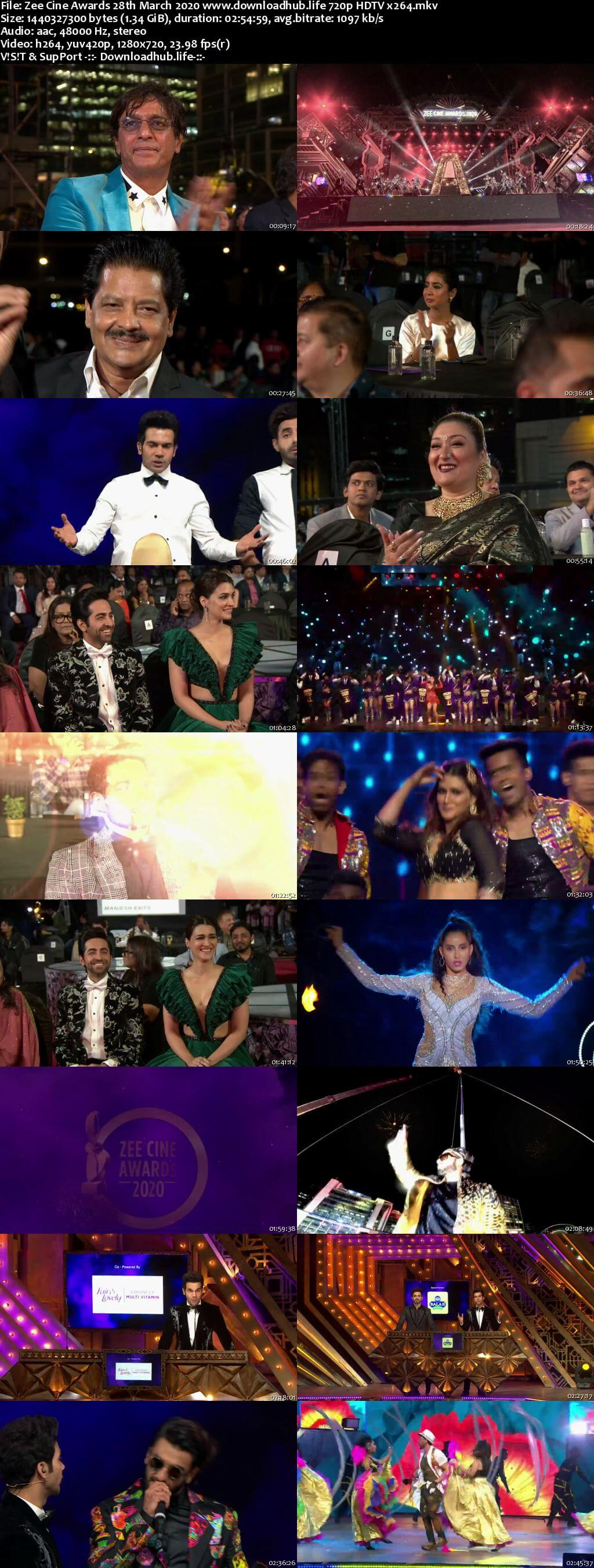Zee Cine Awards 28th March 2020 720p HDTV x264
