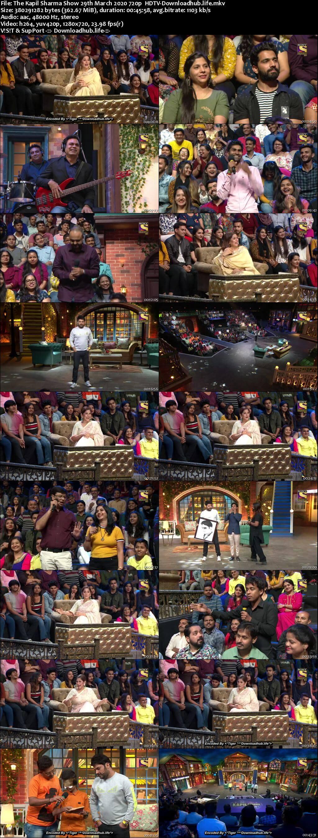 The Kapil Sharma Show 29 March 2020 Episode 127 HDTV 720p 480p