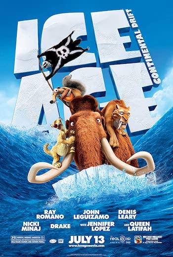 Ice Age – Continental Drift 2012 Dual Audio Hindi English Web-DL 720p 480p Movie Download