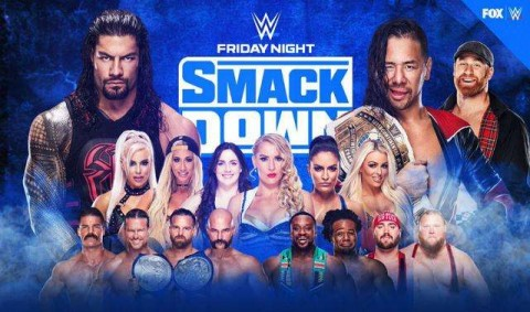 WWE Friday Night SmackDown 27 March 2020 Full Show 480p HDTV x264 300MB