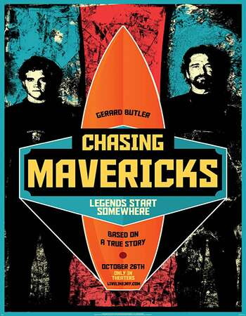 Chasing Mavericks 2012 Hindi Dual Audio 720p BluRay ESubs