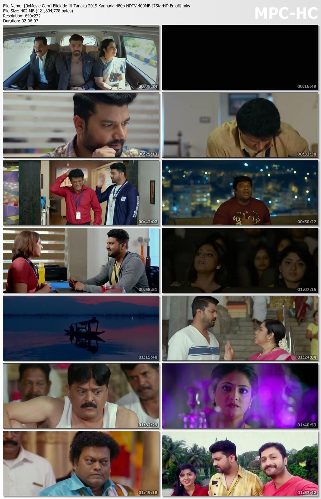 Elleidde illi Tanaka 2019 Kannada 480p HDTV x264 400MB