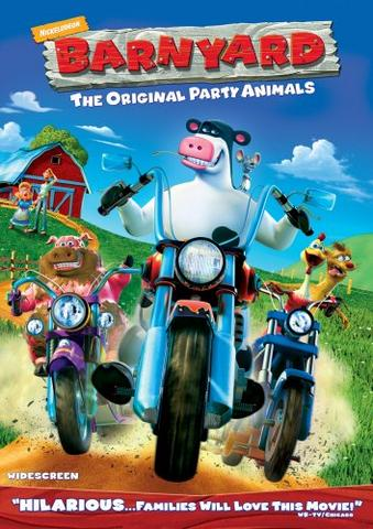 Barnyard 2006 Hindi ORG Dual Audio 480p HDRip x264 300MB ESubs