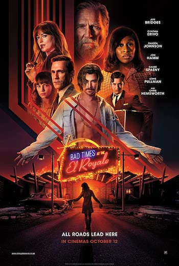 Bad Times At The El Royale 2018 Dual Audio Hindi English Web-DL 720p 480p Movie Download