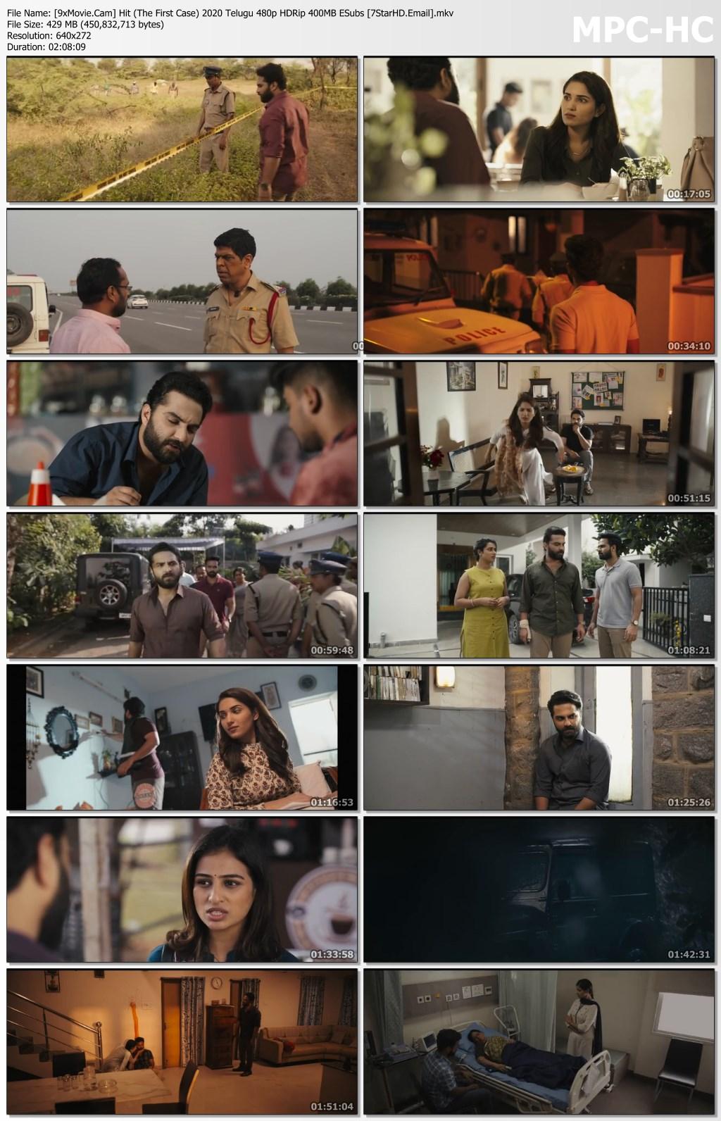 Hit (The First Case) 2020 Telugu 480p HDRip x264 400MB ESubs