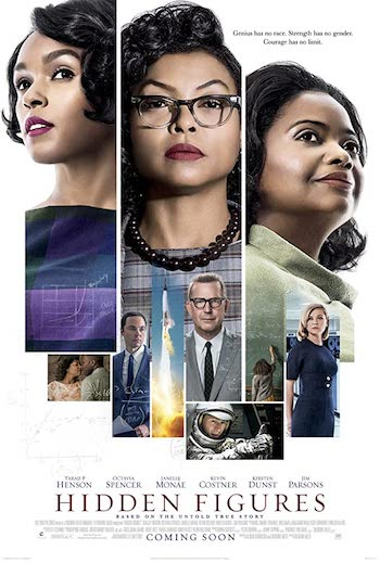 Hidden Figures 2016 Dual Audio Hindi English Web-DL 720p 480p Movie Download