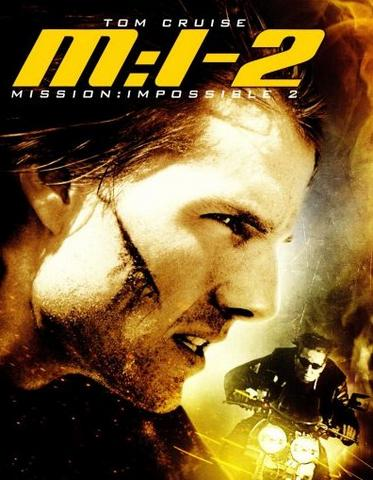 Mission Impossible II 2000 Hindi Dual Audio 480p BluRay x264 350MB ESubs