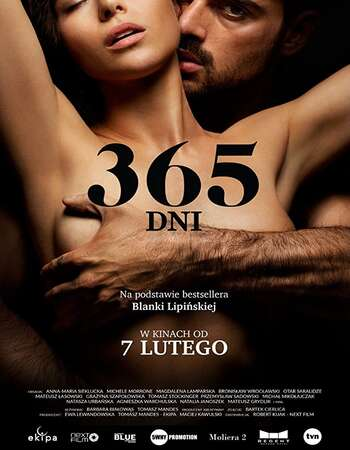[18+] 365 Days (2020) Dual Audio {Hin-Eng} Movie Download [Unofficial Dubbing] | 480p (350MB) | 720p (1GB)