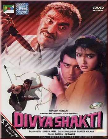 Divya Shakti 1993 Hindi 500MB HDRip 480p ESubs