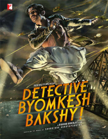 Detective Byomkesh Bakshy 2015 Hindi 400MB HDRip 480p MSubs