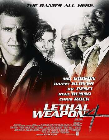 Lethal Weapon 4 1998 Hindi Dual Audio 720p BluRay ESubs