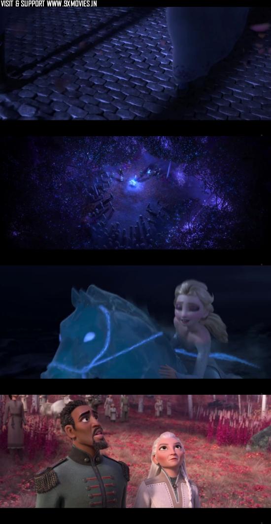 Frozen II 2019 Dual Audio ORG Hindi 480p WEB-DL 300MB