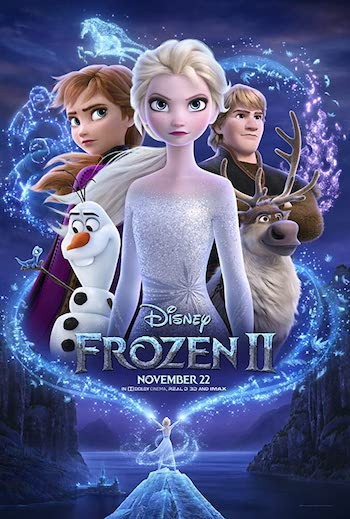Frozen II 2019 Dual Audio ORG Hindi 720p WEB-DL 900MB