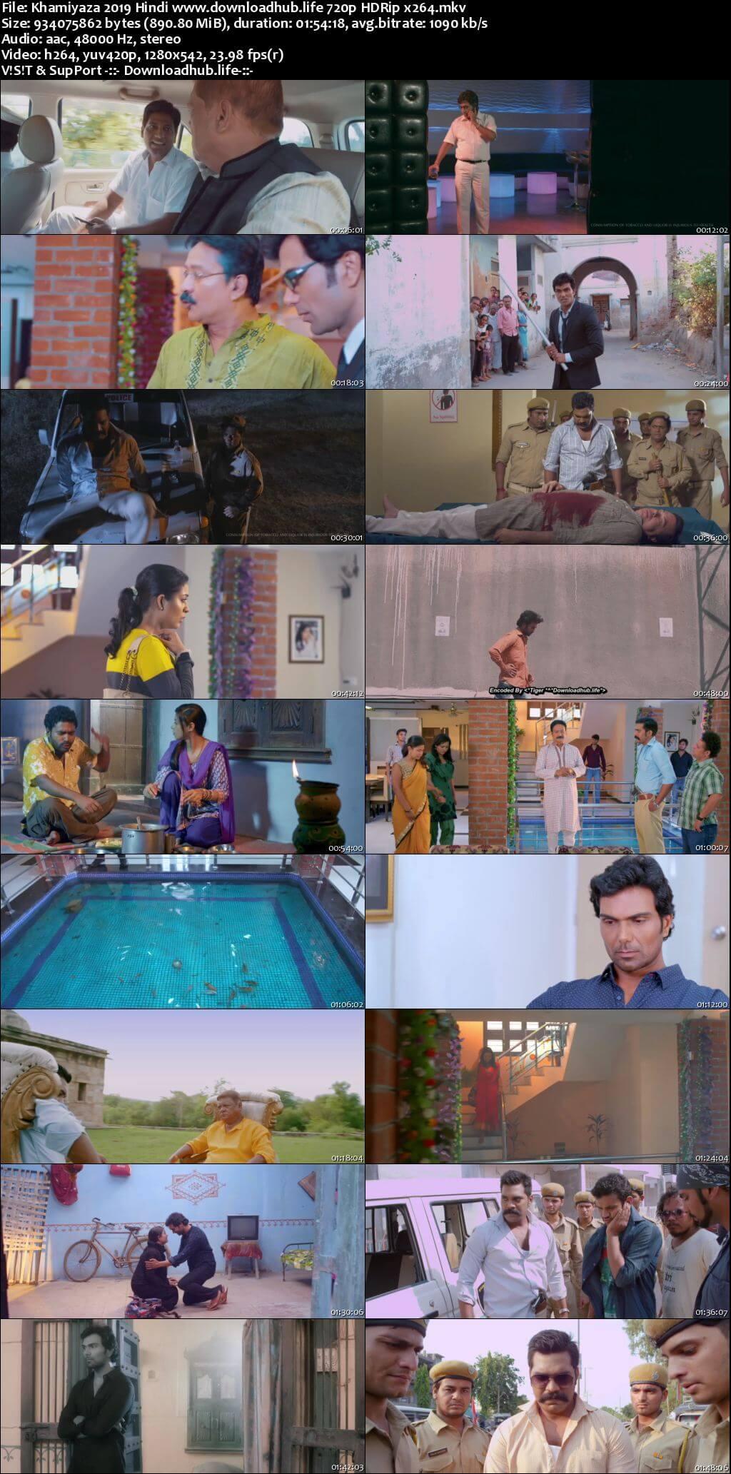 Khamiyaza 2019 Hindi 720p HDRip x264
