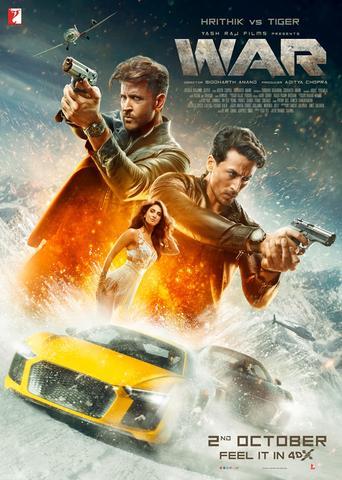War 2019 Hindi Dual Audio 480p BluRay x264 450MB ESubs