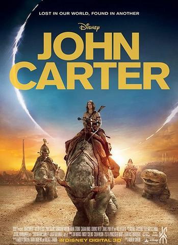 John Carter 2012 Hindi Dual Audio 480p BluRay x264 400MB