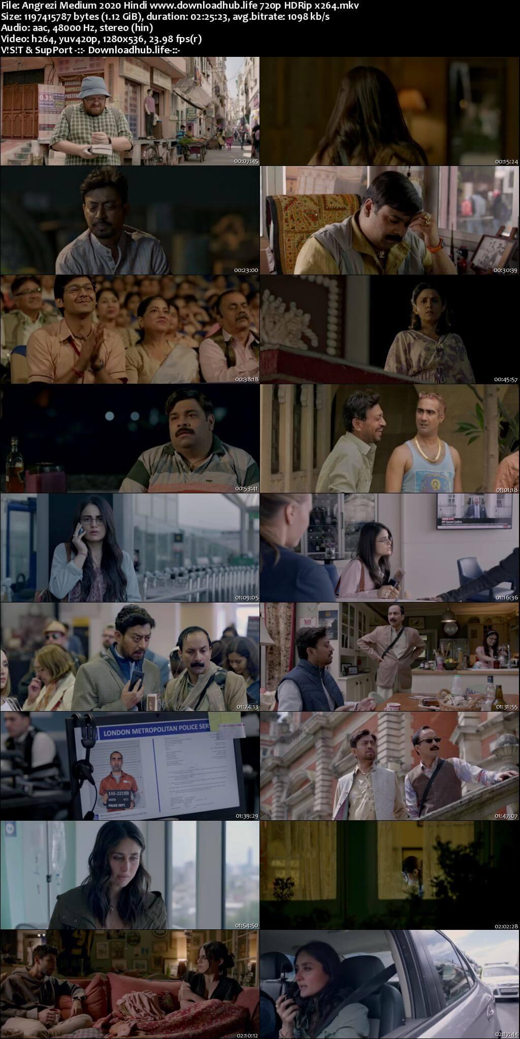 Angrezi Medium 2020 Hindi 720p HDRip x264