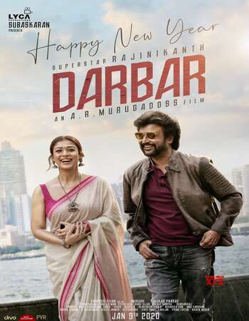 Darbar 2020 Hindi Dual Audio 480p UNCUT HDRip x264 450MB ESubs
