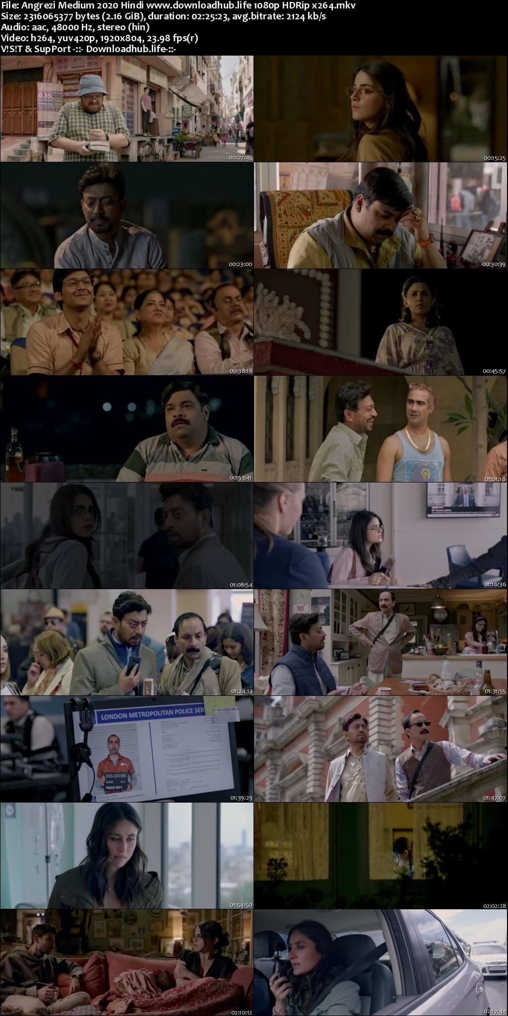 Angrezi Medium 2020 Hindi 1080p HDRip x264
