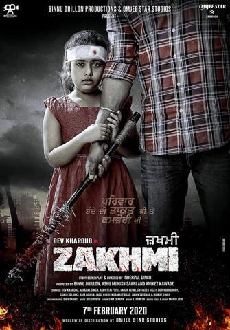 Zakhmi 2020 Punjabi 480p HDTV x264 350MB