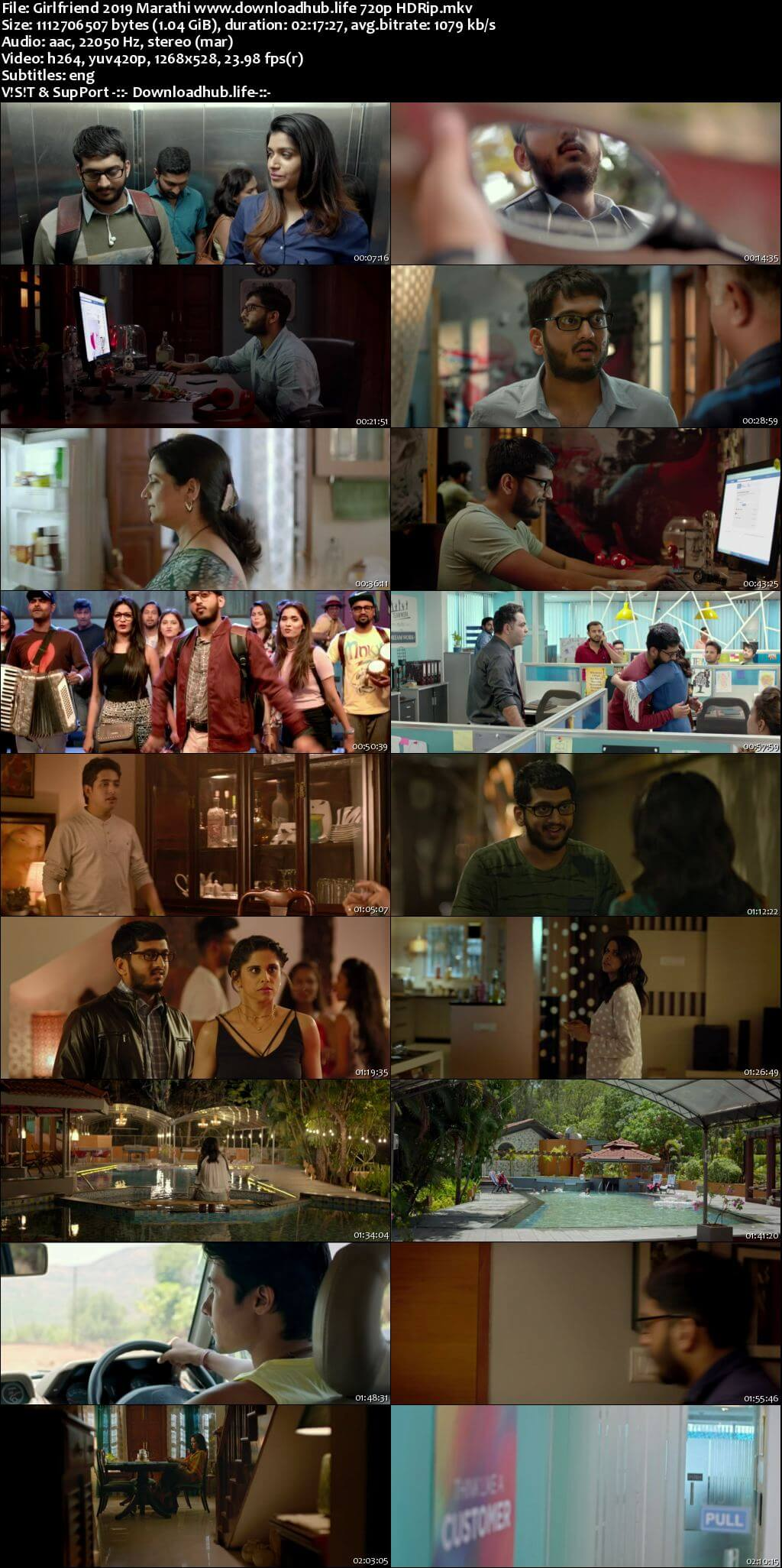 Girlfriend 2019 Marathi 720p HDRip ESubs