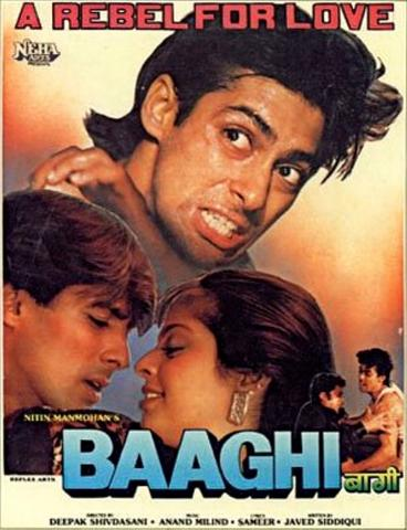 Baaghi A Rebel for Love 1990 Hindi 480p WEB-DL x264 450MB