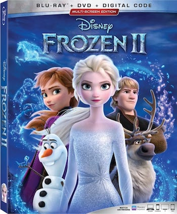Frozen II (2019) Dual Audio ORG Hindi 720p BluRay 950mb