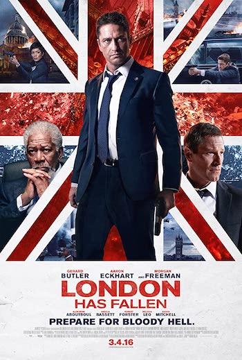 London Has Fallen 2016 Dual Audio Hindi English BluRay 720p 480p Movie Download
