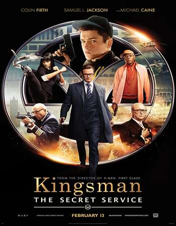 Kingsman The Secret Service 2014 Hindi Dual Audio BRRip Full Movie 720p Download