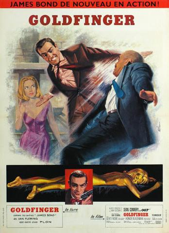 Goldfinger 1964 Hindi Dual Audio 480p BluRay x264 350MB ESubs